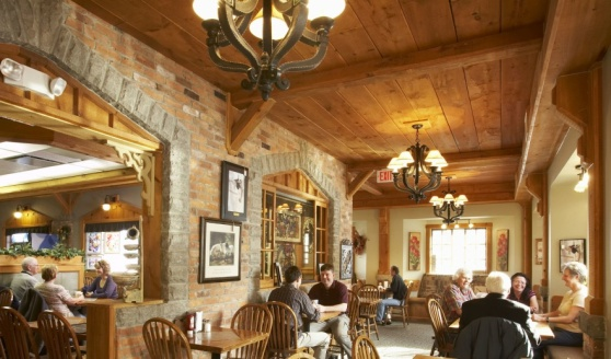 Dining room at the Windmill Country Market in Mt. Pleasant