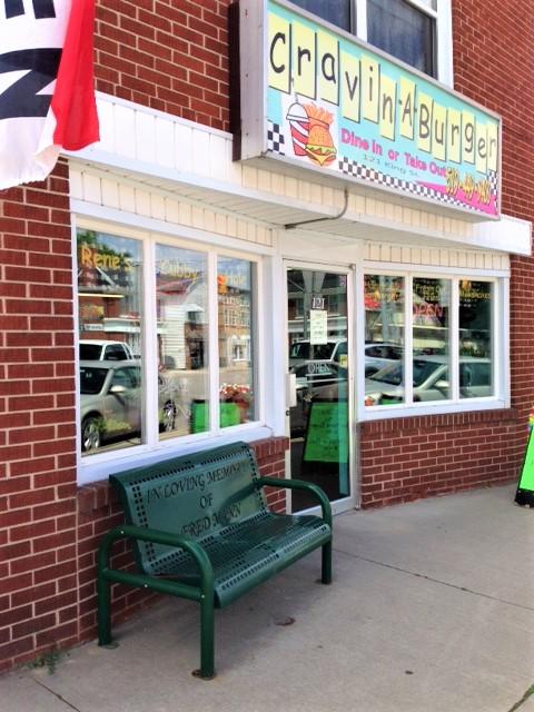 Cravin' a Burger exterior in Burford, Ontario