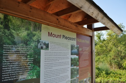Mount Pleasant Nature Park in Brant County