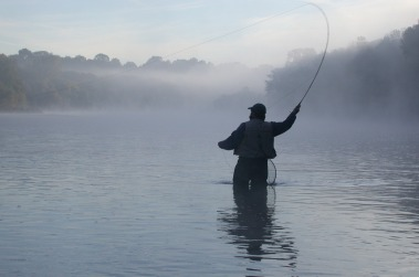 Fly fishing in Brant County