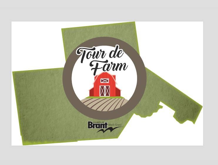 Tour de Farm Logo in Brant County