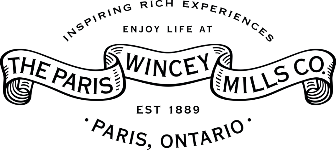 Wincey Mills logo in Paris, Ontario
